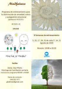 Programa MBSR de Gloria Diaz